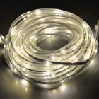 24W LED Light Strip Warm White 3200K 150-SMD - White + Black (10m)