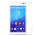 Protective Tempered Glass Screen Guard Protector for SONY C4 - Transparent