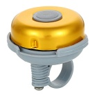 Universal Cycling Bike Bicycle Plastic + Zinc Alloy Bell - Golden