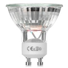 GU10 3W LED Spotlight Bulbs Warm White SMD - White + Silver (4PCS)