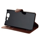 PU Case w/ Stand for WIKO Highway - White + Black + Brown (3PCS)