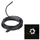 5.5mm IP67 Waterproof USB CMOS 6-LED Snake Borescope Tube Android Endoscope (5M)