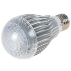 E27 10W Dimmable RGB LED Spotlight w/ Remote - Silver (AC 100-240V)