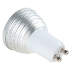 GU10 3W multi-cor Dimmable LED bulbo w / Controlee remoto (AC 100 ~ 240V)