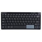 Portable Bluetooth V3.0 Wireless Keyboard Touch Numeric Keyboard