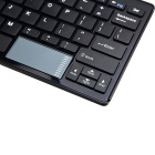 Portable Bluetooth V3.0 Wireless Touch Numeric Keyboard - Black