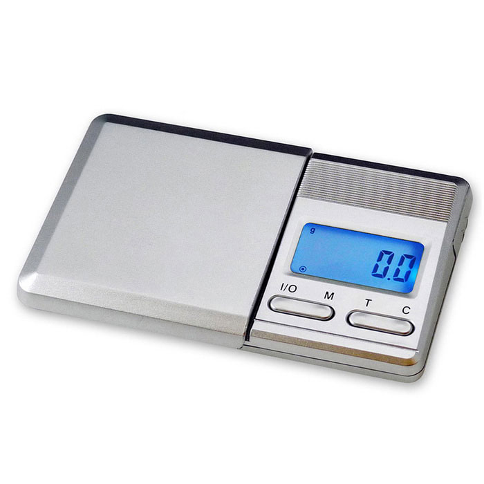 Prointxp Digital Pocket Scale - Silver (2*AAA, 100g/0.01g)