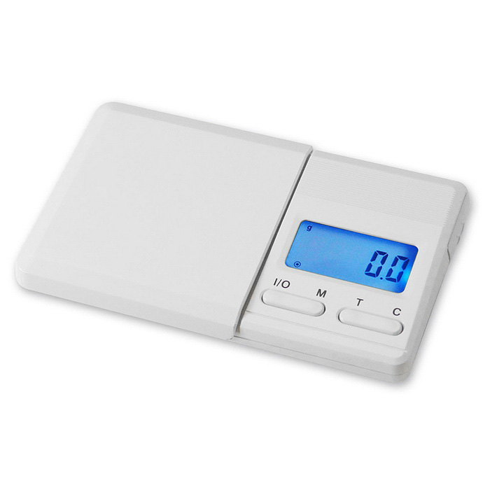 Prointxp Digital Pocket Scale - White (2*AAA, 100g/0.01g)