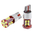 T10 11W LED Car Wide lampe Hvit 6000K 600lm 22-SMD (12-24V / 2stk)
