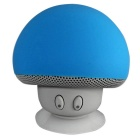 Mushroom Style Mini Wireless Bluetooth V3.0 Speaker - Blue