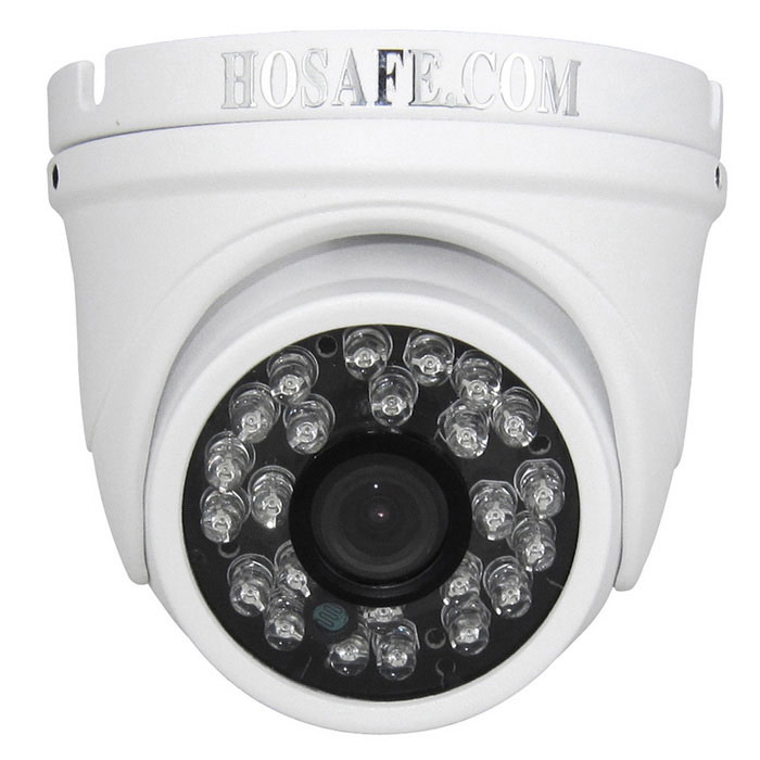 HOSAFE 2MD4 2.0MP 1080P HD IP-camera ONVIF POE kit - wit (eu stekker)