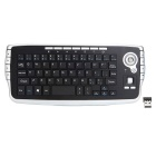 2.4GHz Wireless Keyboard Maus Anzug Air Fliegen Smart TV-Fernbedienung - Schwarz