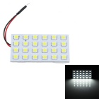 T10 BA9S Festoon 7.2W LED Car Reading Lamps / Indoor Light White Light 360lm 24-SMD 5050 (12V )