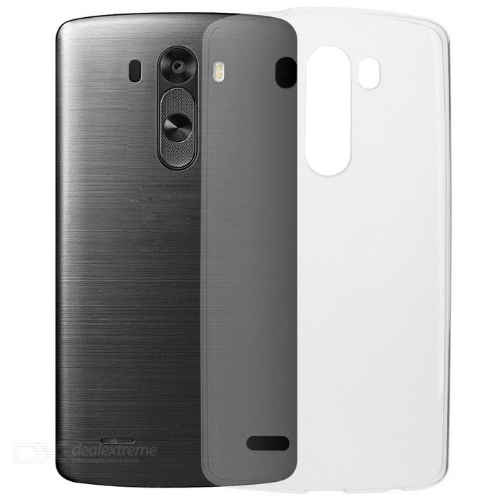 Ultra-thin Protective TPU Back Cover Case for LG G3 - Translucent