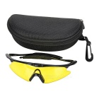 CTSmart Multifunction Polarized Cycling Sunglasses Goggles - Yellow