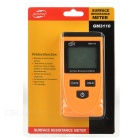 "BENETECH GM3110 2"" LCD Surface Resistance Meter Tester (1*6F22)"