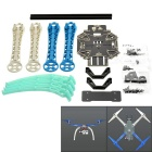 FPV Aerial Frame Kit for S500 R/C Quadcopter  - Black + White