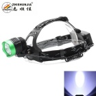 ZHISHUNJIA XM-L T6 LED 900lm 3-Mode Neutral White Headlamp Headlight - Black + Green