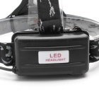 ZHISHUNJIA XM-L T6 LED 3-Mode Neutral White Headlamp - Black + Green