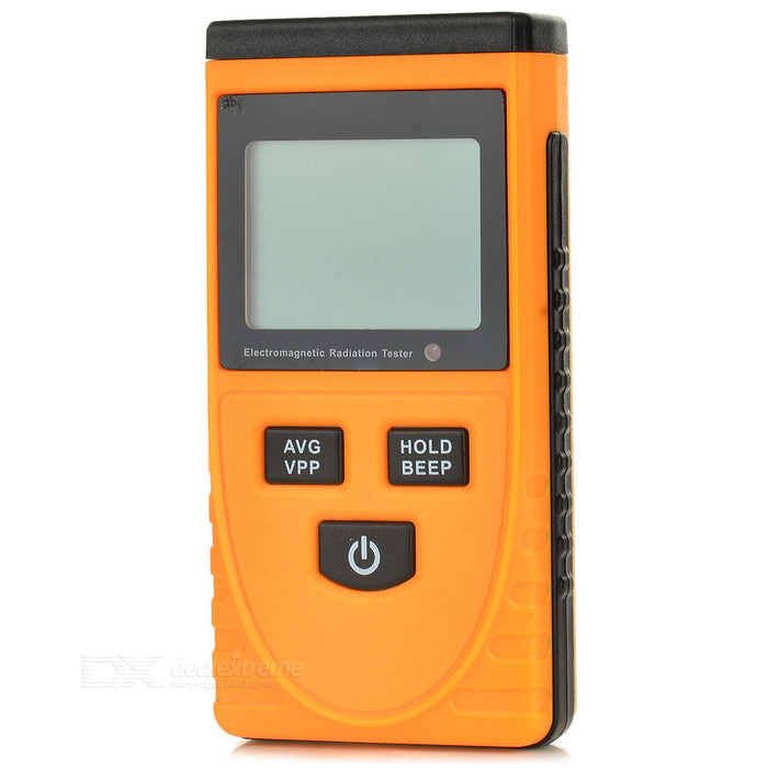 BENETECH GM3120 Electromagnetic Radiation Tester - Orange and Black - Gadgets - Electrical and Tools