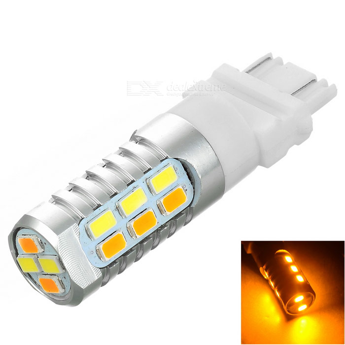 3157 1.9W 22-LED Warm White + Cold White Steering/Daytime Running Lamp