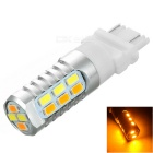 3157 1.9W 22-LED 5730 SMD Warm White + Cool White Light Steering / Daytime Running Lamp 120lm (12V)
