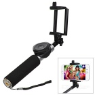 Hoox Retractable Bluetooth 3.0 Remote Controlled Selfie Monopod for IPHONE / Android Phones - Black