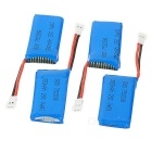 4*380mAh Batteries / 1-to-4 Charger / Converter /Cable Set - Blue