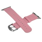 Micro Fiber Watch Band w/ Attachments for APPLE WATCH 38mm - Pink