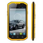 "H8 Dual-core Android 4.4.2 WCDMA Rugged Bar Phone w/ 5.0"" IPS, 8.0MP, Wi-Fi, GPS - Orange + Black"