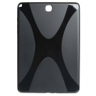 """X"" Pattern Non-Slip Protective TPU Back Case for Samsung Galaxy Tab A 9.7 - Black"