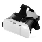 Head-mount Virtual Reality Glasses for Mobile Phone - White + Black + Multicolor