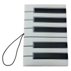 Piano Key Art-Pass-Abdeckung - White + Black + Multicolor