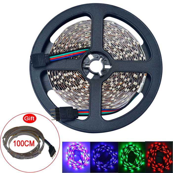 Vânia 20W 300-3528 SMD RGB LED Strip luz (DC 12V / 5m)
