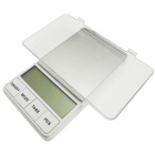 "Prointxp PMDT 2.6"" Large Screen Digital Pocket Jewelry Scale - White (200g / 0.01g)"