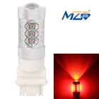 MZ T25 80W 16-XT-E LED Car Rear Fog / Backup Light Red 660nm 4000lm w/ Constant Current (12~24V)