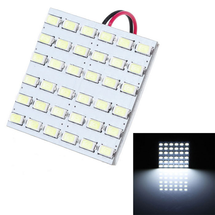 T10 BA9S Festoon 10W LED Car Reading Lamp White 800lm 36-SMD (12V)
