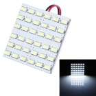 T10 BA9S Festoon 10W LED Car Reading Lamp / Indoor Light White Light 6000K 800lm 36-SMD 5730 (12V)