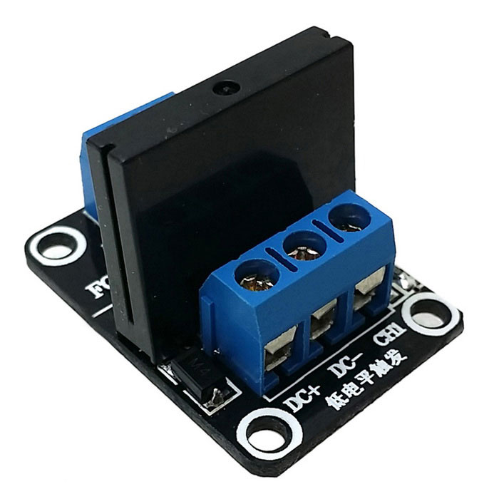 1Channel 5V SSR SolidState Relay Low Level Trigger Module 240V - Solid State Relay Low Current