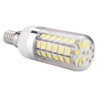 E14 11W LED Corn Bulb Cold White Light 920lm 56-SMD 5730 (AC 100~140V)