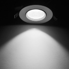 8W Dimmable Anti-Glare COB LED Ceiling Light White 6500K 630lm
