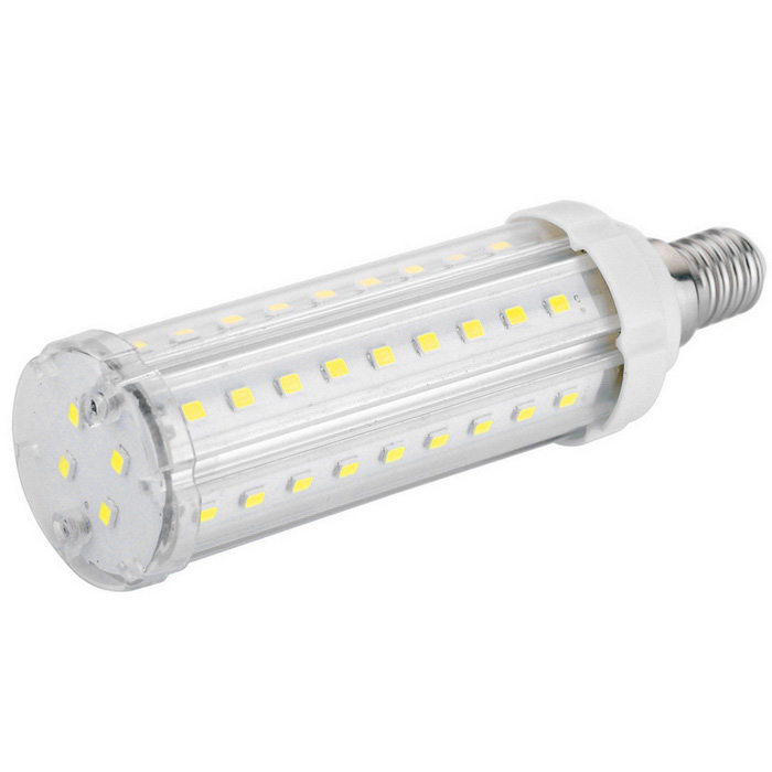 E14 15W 5-2835 SMD 1250lm Cold White LED Corn Light Bulb (AC 100~240V)