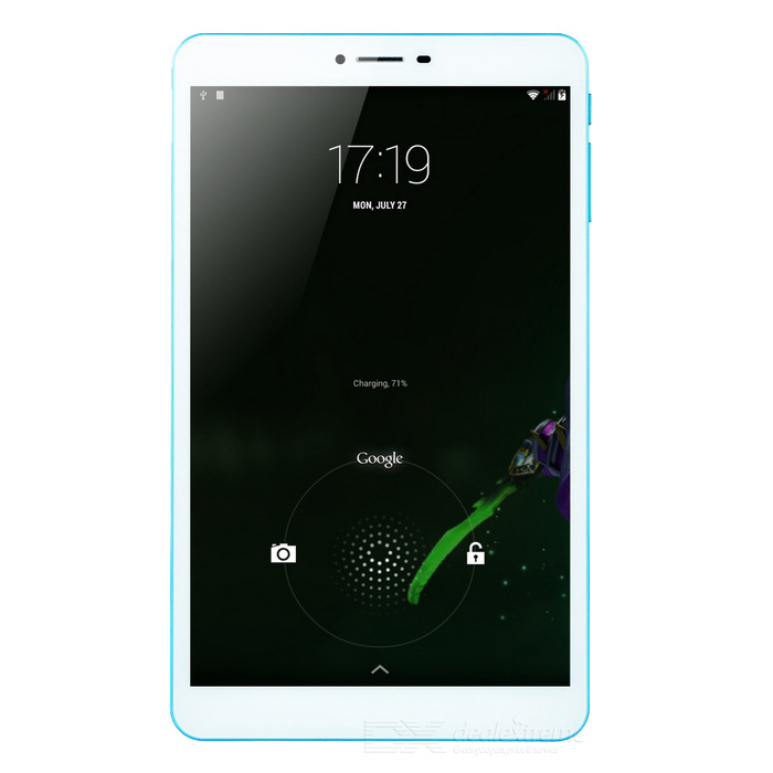 Colorfly G808_Oc Android Tablet w/ 2GB RAM , 16GB ROM - White + Blue