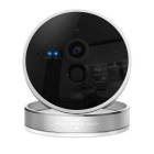Intelligent Network Cube 720P P2P Wireless Wi-Fi IP Camera - Black