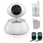 2015 Wireless 720P HD Wifi IP Camera Home House Alarm Security System