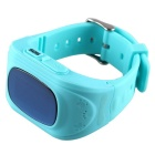 Anti-Lost Smart Watch w/ GPS Locator Tracker, SOS Call for Kids - Blue