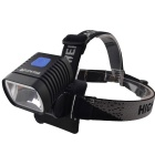 RichFire SF-619 XM-L2 U3 1-LED 800lm 3-Mode Cool White Eagle Eye Bike Light Headlamp (6 x 18650)
