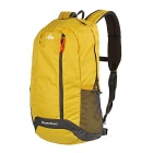 Decathlon Outdoor Sports / Travel Polyester Shoulders Bag Schoolbag Backpack - Yellow + Grey (20L)
