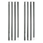 NatureHike Aluminium Alloy Outdoor Sun Shelter Poles / Awning Support Rods Set - Dark Green