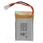 Li-Polymer Battery w/ Protective Board for Model Airplane / 4-Axis Plane (3.7V / 600mAh)
